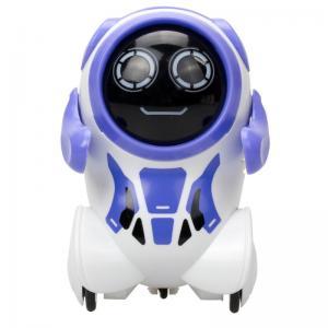 Интерактивный робот  Покибот 8 см цвет: сиреневый Silverlit
