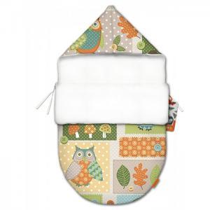 Конверт для новорожденного Мудрая Сова mini (лето) QuQuBaby