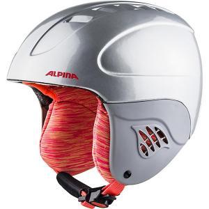 Зимний шлем  CARAT silver-flamingo Alpina. Цвет: серебряный