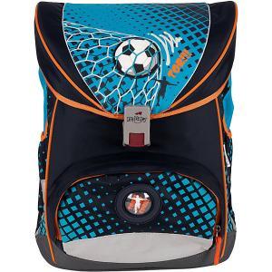 Ранец с наполнением  Ergoflex Футбольный мяч DerDieDas. Цвет: schwarz/petrol