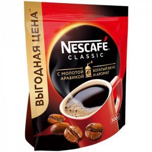 Кофе растворимый с молотым Classic 500 г Nescafe