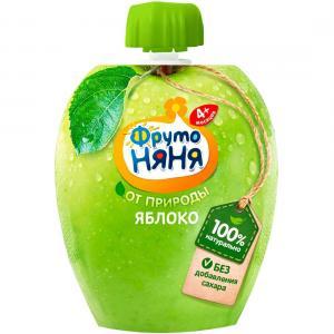 Пюре  яблоко с 4 месяцев, 90 г ФрутоНяня