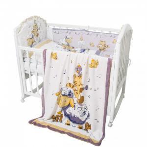 Комплект в кроватку  Овечка 6 предметов Baby Nice (ОТК)