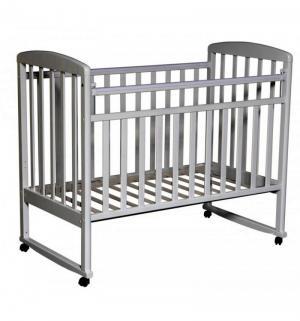 Кровать  Алита, цвет: серый Антел