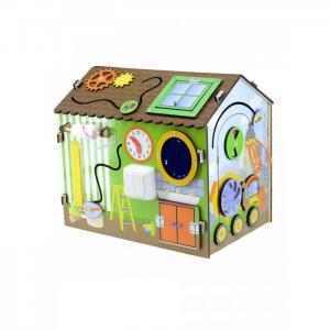 Деревянная игрушка  Бизиборд Я-строитель Фабрика Мастер игрушек
