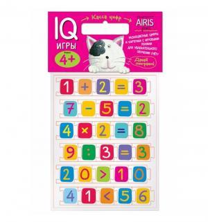 Обучающие карточки  «Мягкие игры Касса цифр с игровыми полями Айрис-пресс