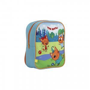 Рюкзак Три кота, малый Kinderline. Цвет: разноцветный