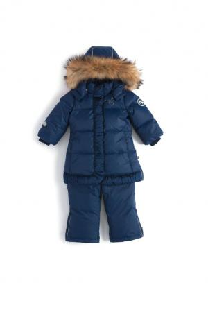 Комплект куртка/полукомбинезон  Miia, цвет: синий Nels