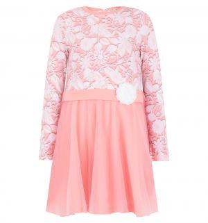 Платье , цвет: бежевый/розовый M&D