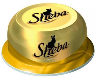 Влажный корм  для взрослых кошек, соте из куриных грудок, 80г Sheba