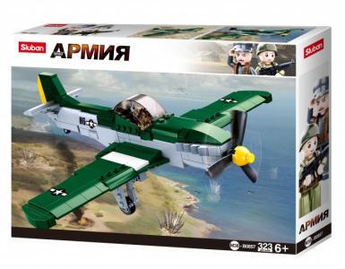 Конструктор  Самолет (323 деталей) Sluban