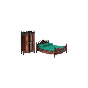 Сборная модель Спальня Умная Бумага