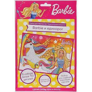 Кристальная мозаика MultiArt Barbie. Цвет: разноцветный