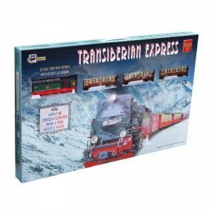 Железная дорога 1 локомотив 3 вагона тоннель светофор мост станция стрелка 4,9м эллипс 450 Pequetren