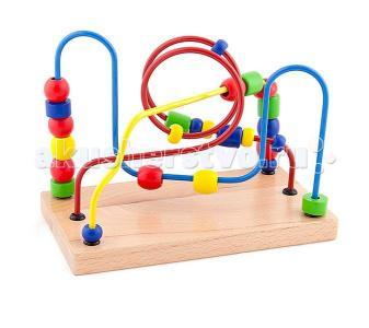 Деревянная игрушка  Лабиринт Бусины 56256 Viga