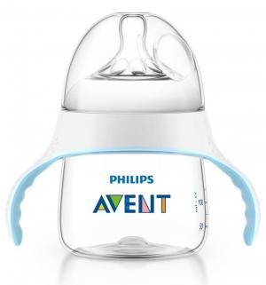 Бутылочка  Natural полипропилен с 4 мес, 125 мл, цвет: прозрачный Avent