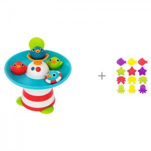 Игрушка Фонтан Утиные гонки и мини-коврики для ванны ROXY Yookidoo