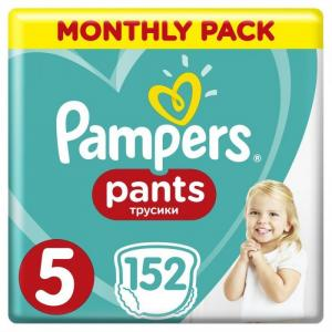 Подгузники-трусики Pants р.5 (12-17 кг) 152 шт. Pampers