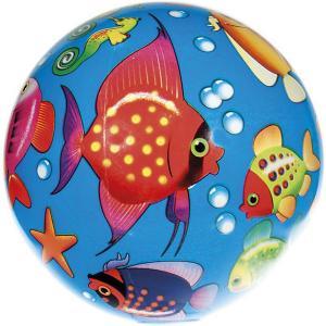 Мяч  Мир моря, 23 см Dema-Stil. Цвет: синий/красный
