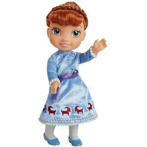 Кукла  Олаф и холодное приключение Анна, 38 см Jakks Pacific. Цвет: голубой