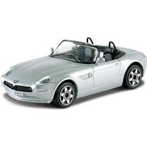Машинка  BMW Z8, 1:43 Bburago. Цвет: серебряный