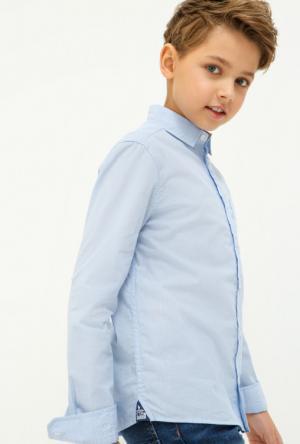 Рубашки Acoola. Цвет: голубой