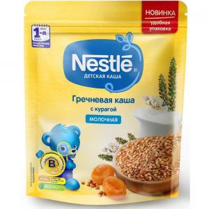 Каша  молочная гречневая с курагой Моя 1-ая Каша.Продолжаем прикорм 5 месяцев 220 г Nestle