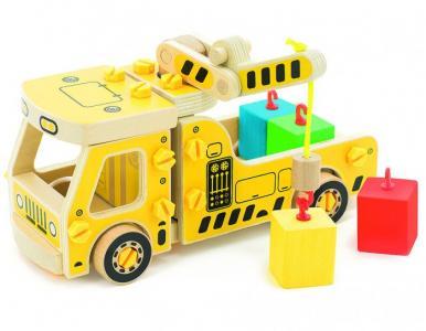 Машина погрузчик Мир деревянных игрушек