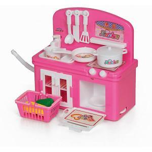 Кухня  Toys, с аксессуарами Yako. Цвет: розовый/розовый