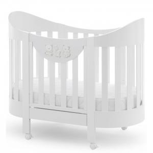 Детская кроватка  Happy Family Oval Italbaby