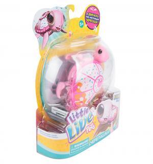 Интерактивная игрушка  Черепашка розовая Little Live Pets