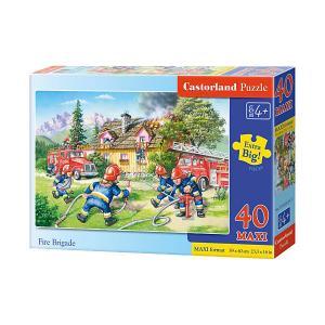 Пазл  Maxi Пожарные, 40 деталей Castorland