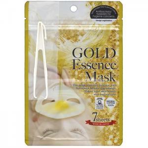 Маска с экстрактом золота Gold Essence Mask 7 шт. Japan Gals
