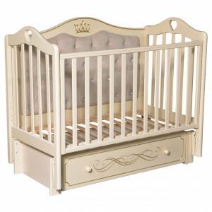 Детская кроватка  Karolina 10 универсальный маятник Кедр