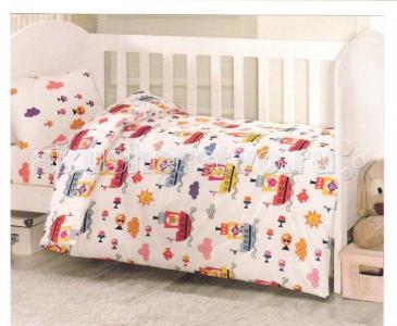 Комплект в кроватку  Пароход (6 предмета) Ups Pups