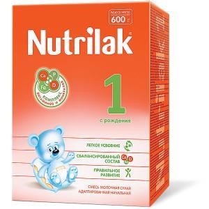 Молочная смесь  1, с 0 мес, 600 г Nutrilak