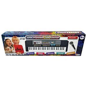 Электронный синтезатор , 49 клавиш Играем вместе