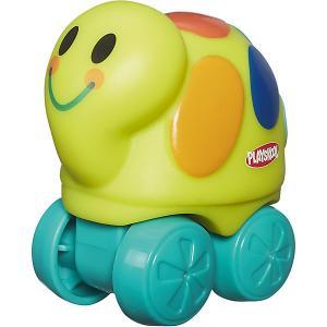 Веселые мини-животные Возьми с собой: желтая черепаха, PLAYSKOOL Hasbro