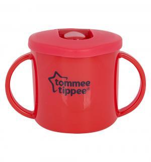 Чашка-непроливайка  Первая, цвет: красный Tommee Tippee