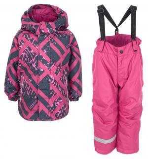 Комплект куртка/брюки , цвет: фиолетовый Lassie