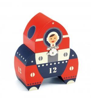 Шкатулка  Космонавт, 17.4 х 14.5 8.2 см Djeco
