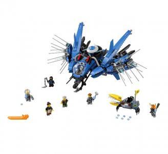 Конструктор  Ninjago 70614 Лего Ниндзяго Самолет Молния Джея Lego