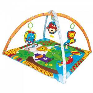 Развивающий коврик  Мои друзья из Джунглей Biba Toys