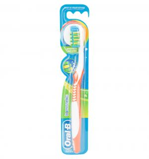 Зубная щетка  Комплекс средняя жесткость, цвет: оранжевый Oral-B