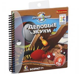 Магнитная игра для путешествий  Деловые жуки Bondibon