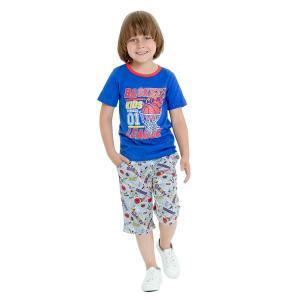 Комплект футболка/шорты  Спортивное лето Веселый малыш
