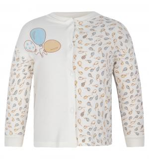 Джемпер  Воздушные шарики, цвет: голубой/бежевый Папитто