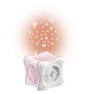 Ночник-проектор  Радуга розовый Chicco