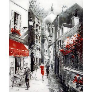 Картина по номерам  Улочка старого города, 40х50 см Molly. Цвет: разноцветный