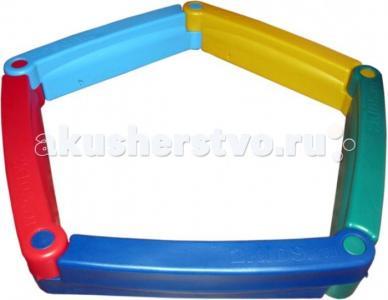 М Пластиковая песочница из 5-ти элементов 2Kids